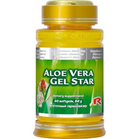 ALOE VERA GEL STAR aloes (Aloe vera)-oczyszczanie organizmu- odporność