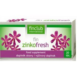 fin Zinkofresh-ból gardła-nieświeży oddech