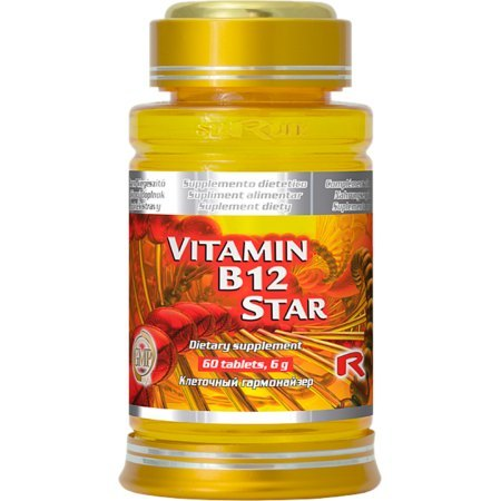 Witamina b12 - VITAMIN B12 STAR-niedokrwistość, stres,