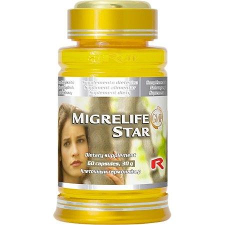 MIGRELIFE STAR- migrena, wyczerpanie psychiczne