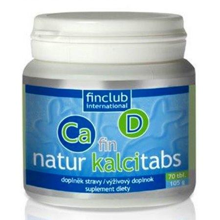 fin Natur Kalcitabs-wapń ze żródeł roslinnych