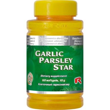 GARLIC PARSLEY STAR-przeziebienia, grypa, nadcisnienie, pasożyty