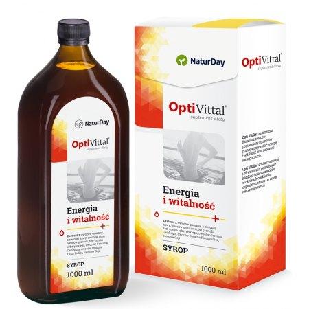 OptiVittal-witalność, energia na cały dzień