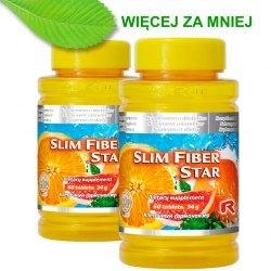 SLIM FIBER STAR x 2, oczyszczanie, odchudzanie