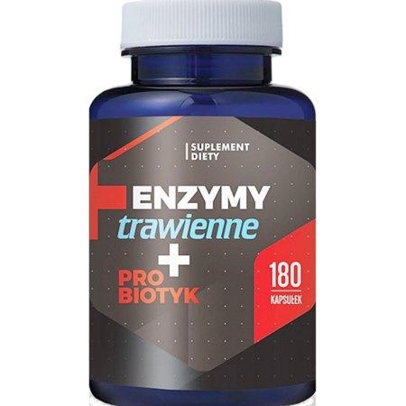 Enzymy trawienne-trawienie i probiotyk