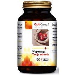 Opti Omega- dla serca, mózgu, układu krążenia, odporności