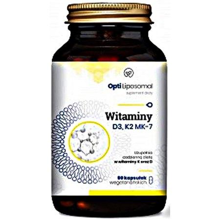 Opti Liposomal D3,K2-MK7 - przyswajanie wapnia