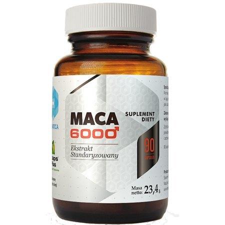 MACA 6000- potencja , spermatogeneza