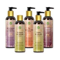 Zestaw złoty - pielęgnacja i odżywienie włosów i skóry