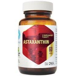 ASTAXANTHIN- ochrona przed wolnymi rodznikami , działanie antoksydacyjne,
