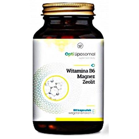 Opti Liposomal B6 +Magnez +Zeolit dla prawidłowego funkcjonowania układu nerwowego