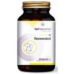 Opti Liposomal Resweratrol- serce, układ krązenia, cholesterol, antyoksydant