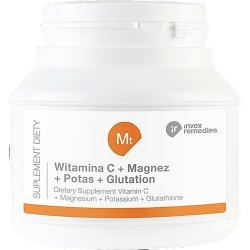 Mt Witamina C+ Magnez+ Potas+ Glutation