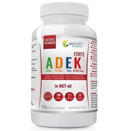 Witamina ADEK- niedobór witamin rozpuszczalnych w tłuszczach