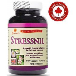 STRESSNIL- Redukcja stresu | Uspokojenie | Pomoc w bezsenności | Prawidłowe działanie mózgu | Regeneracja