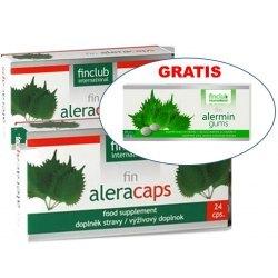 Fin Aleracaps alergia, pylenie roślin,