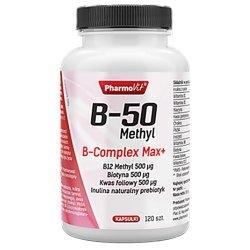 B-complex Max+ dla układu nerwowego, prawidłowy metabolizm
