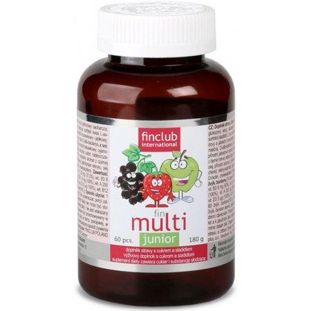 Fin Multi Junior - witaminy dla dzieci