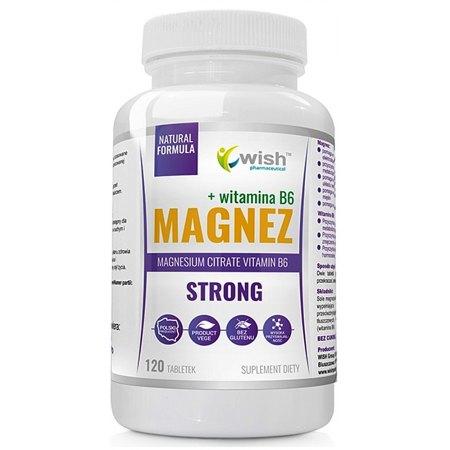 Magnez Strong- nerwowość, bezsenność, skurcze mięśni ,