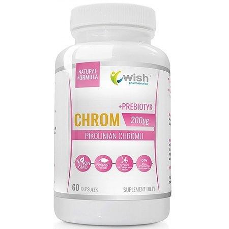 Chrom (Pikolinian Chromu)- poziom glukozy