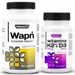 Wapń + K2D3 dla mocnych kości