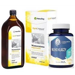 odporności na infekcje i przeziebienia
