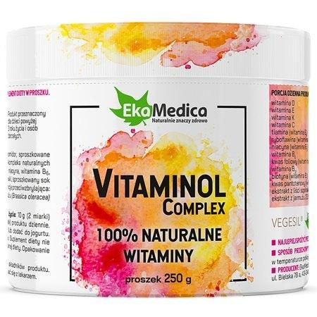 VITAMINOL COMPLEX - witaminy z grupy B oraz witaminy C, D, E i K