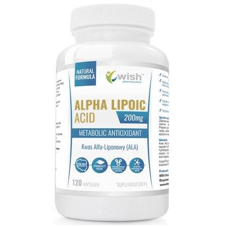 Kwas Alfa Liponowy ALA - cukrzyca