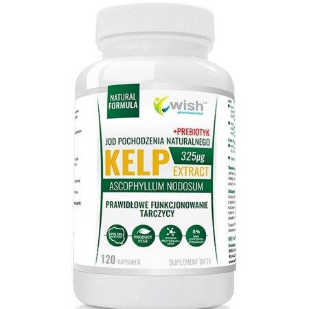 Kelp Jod Naturalny- tarczyca, hormony, funkcje poznawcze