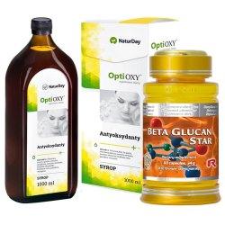 OPTI OXY i BETAGLUKAN STAR - feektywne wzmocnienie osłabionej odporności
