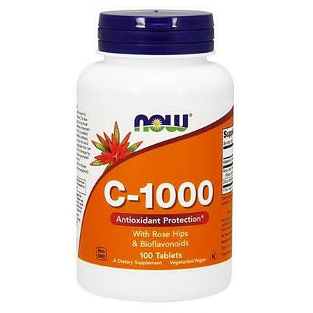 Vitamin C-1000 with Rose Hips & Bioflavonoids - odporność