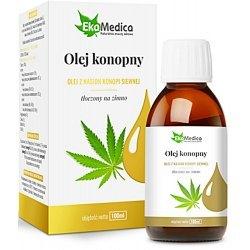 Olej Konopny omega 3 - odporność