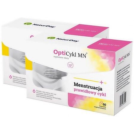 Opti Cykl MN®, bolesne miesiączki, regulacja cyklu menstruacyjnego