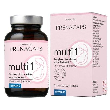 PRENACAPS MULTI 1 - dla kobiet w ciąży do 12 tyg