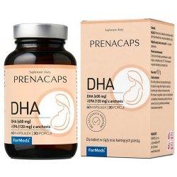 PRENACAPS DHA dla mózgu, serca, oczu, błon komórkowych