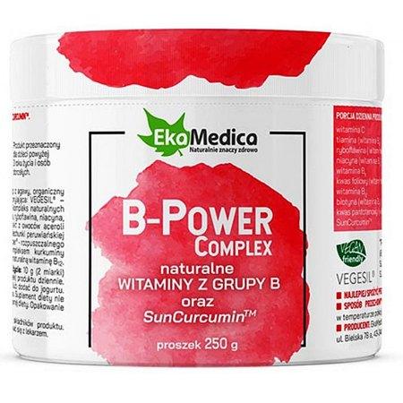 B-power Complex witaminy B - praca układu nerwowego, procesy krwiotwórcze, metabolizm
