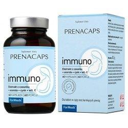 PRENACAPS IMMUNO - dla kobiet w ciąży oraz karmiących piersią, by wzmocnić ich odporność.