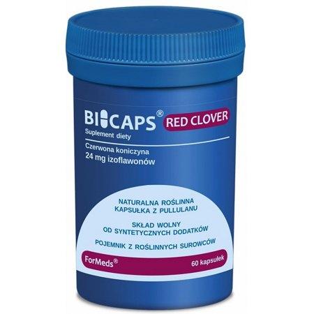 BICAPS® RED CLOVER - fitoestrogeny z czerwonej koniczyny-menopauza