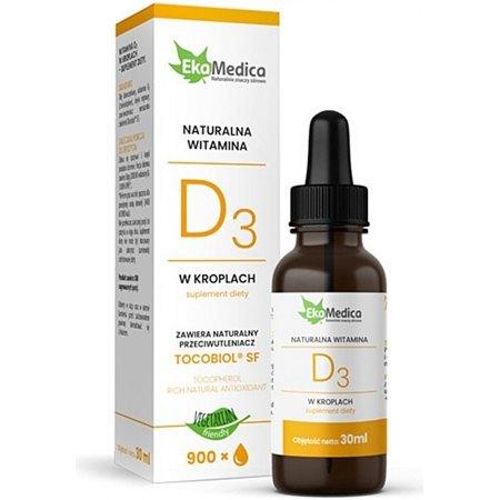Witamina D3 - dla zdrowia kości i gospodarki hormonalnej