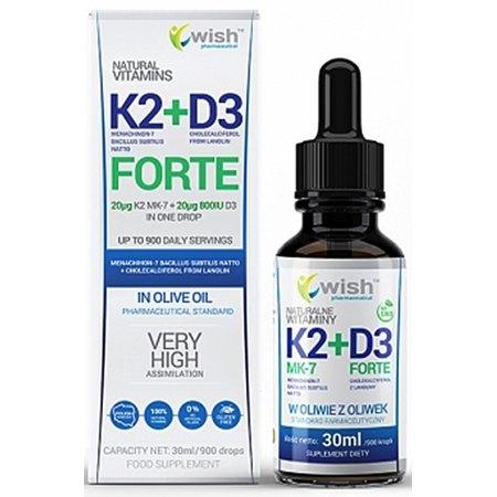 Witamina K2 MK-7 + D3- wchłanianie wapania i fosforu do kości