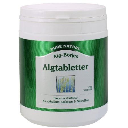 Algtabletter -odzywienie, oczyszczenie, odchudzanie, wspomaganie w rekonwalescencji po chorobach