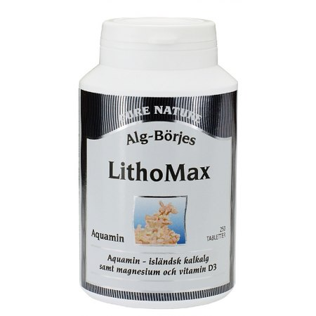 LithoMax Aquamin 250 tabletek- kości, stawy, mięśnie,