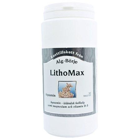 LithoMax Aquamin 500 tabletek- kości, stawy, osteoporoza, osteopenia, menopauza