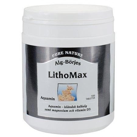 LithoMax Aquamin 1000 tabletek - odbudowa tkanki kostnej, chrząstek, odżywienie mięśni,