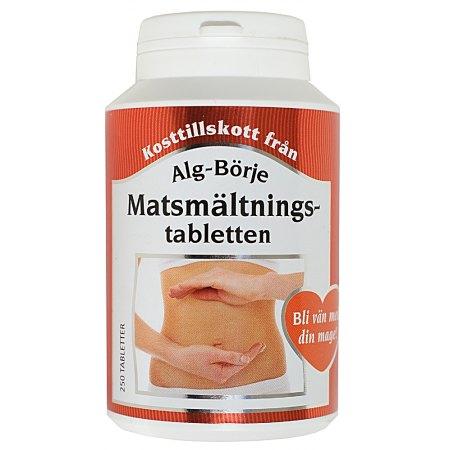 Matsmältnings-tabletten - na trawienie - 250 tabletek-trzustka, watroba jelita