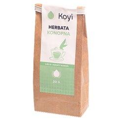 Koyi - Herbata konopna - metabolizm, stres, wyciszenie, oczyszczanie