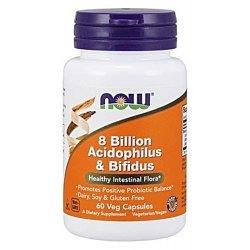 8 Billion Acidophilus & Bifidus NOW Foods- bakterie priobiotyczne