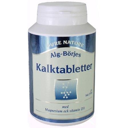Kalktabletter - wapń- kości, zęby, metabolizm,