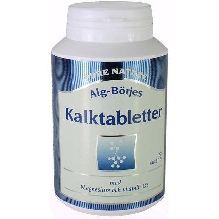 Kalktabletter - wapń 250 tabletek - kości