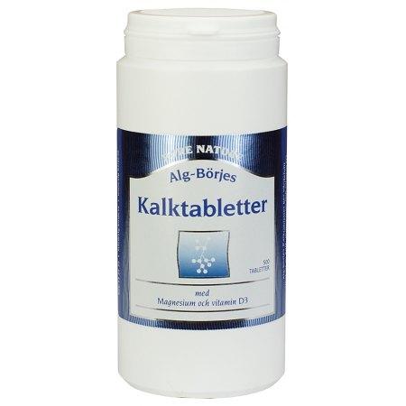 Kalktabletter - wapń- 500 tabletek- kości, stawy, mięśnie, zęby